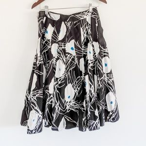 Marc Jacobs Skirts - Marc Jacobs cotton floral pleated skirt